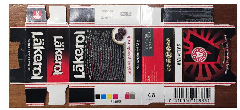Pantone kleuren in verpakkingen