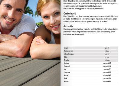 Meertalige brochure terrasdelen