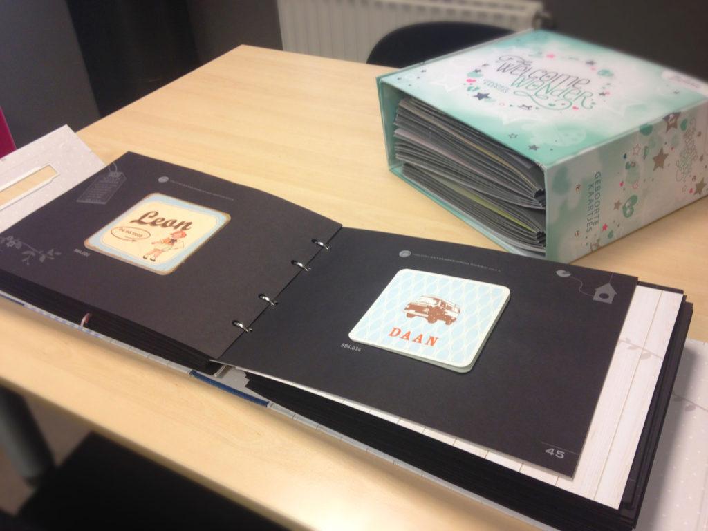 stalenboek gelegenheidsdrukwerk