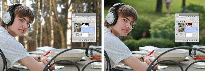 Photoshop cursus leren werken met lagen