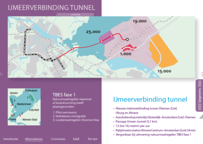 app over verbinding Amsterdam-Almere