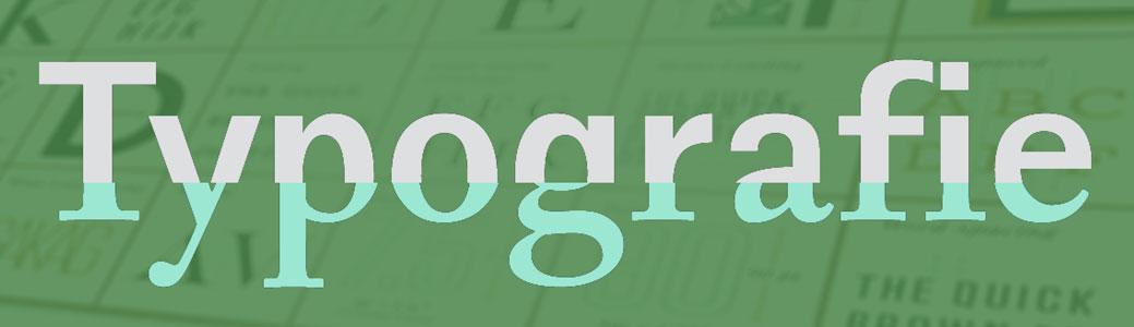 Typografie cursus